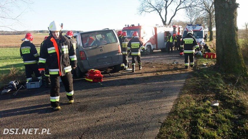 Zginął człowiek. Drugiego uratował strażak Krzysztof Szyszczakiewicz