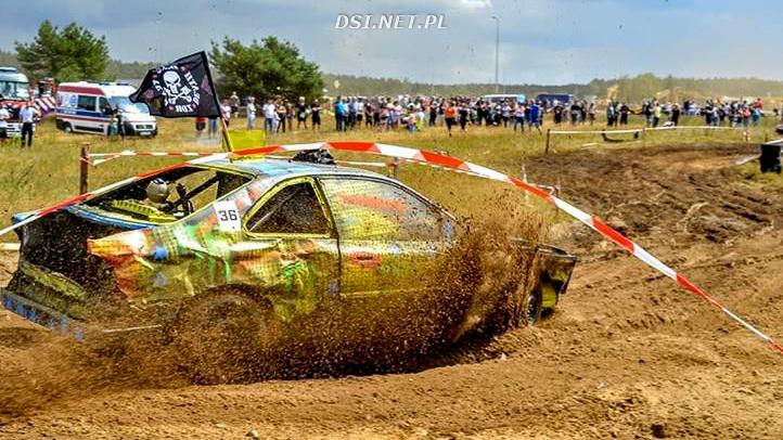 Puchar konstruktorów dla drawskiego zespołu na WrakRace Łobez - Summer Race
