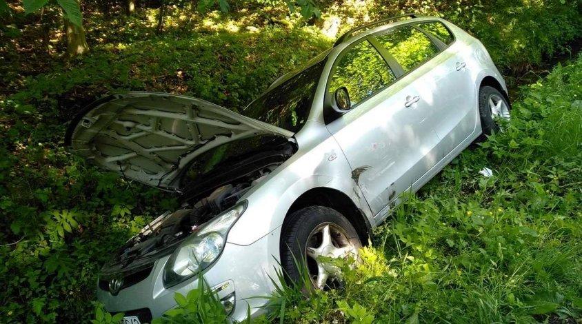 Wypadek. Zderzyły się trzy auta