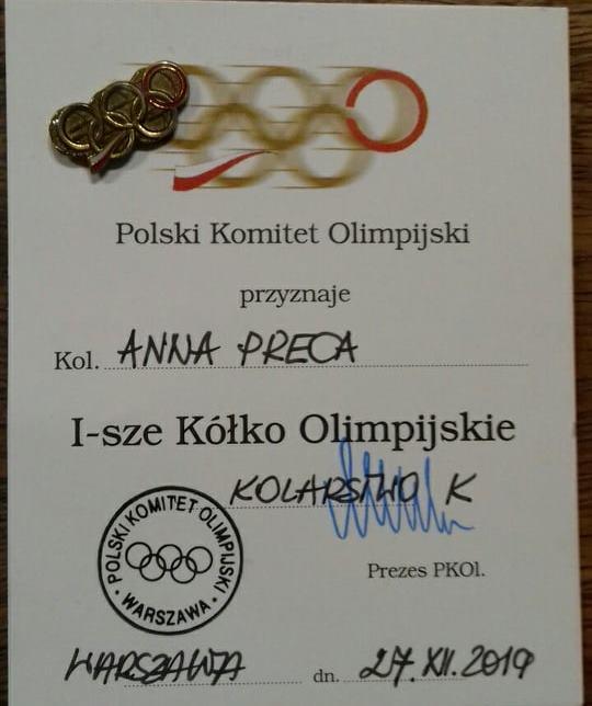 Ania Preca zdobyła pierwsze kolarskie kółko olimpijskie a Karol Grządziel wyróżnienie – zdjęcia i video