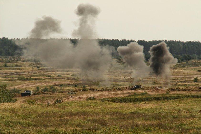 GREEN SUPPORT 20. W piątek rozpoczynają się duże ćwiczenia strażaków na poligonie w Drawsku Pomorskim.