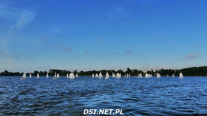 Medalowy weekend nad jeziorem Żnińskim dla żeglarzy ze Złocieńca
