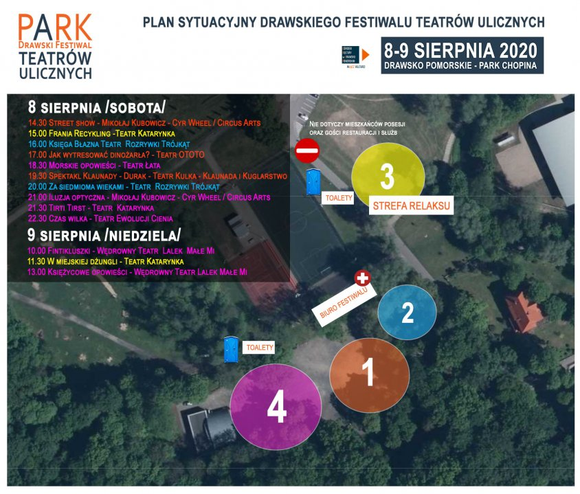 Rozpoczyna się PARK – Drawski Festiwal Teatrów Ulicznych.