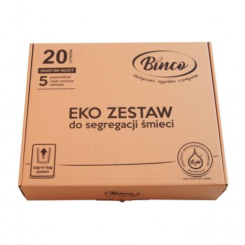 """Złocieniecka firma Binco pierwsza w Polsce wprowadza system """"Bag-in-bag"""""""