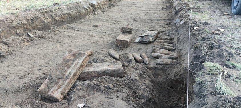 Niewybuchy znalezione w Drawsku Pomorskim na budowanej ścieżce rowerowej