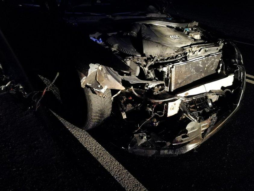 18:43 – Wypadek na trasie Rzęśnica - Suliszewo
