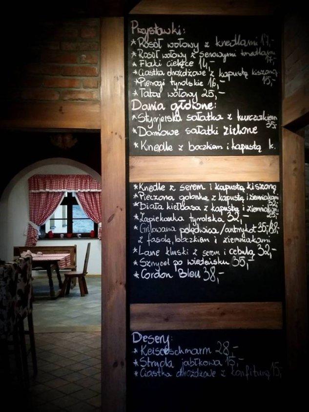 W sobotę otwarcie Karczmy Tyrolskiej w Błędnie