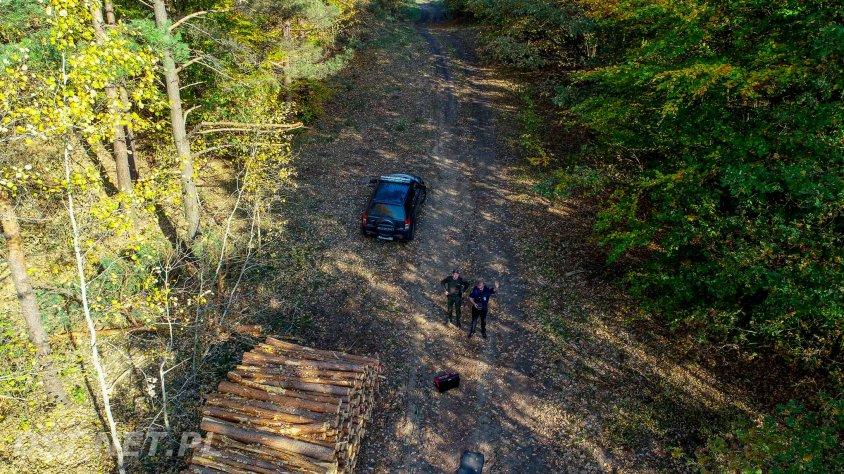 Straż Miejska w Czaplinku dysponuje dronem i wykorzystuje go do wspólnych patroli