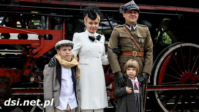 Zabytkowy parowóz w Drawsku i Złocieńcu_18