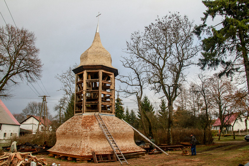 Zakończono prace ratunkowe przy kościele w Mielenku Drawskim