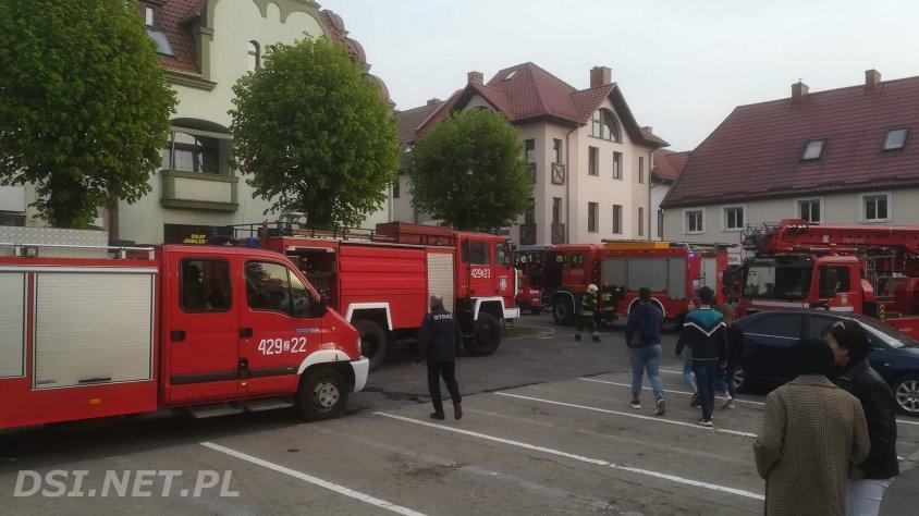 Dwa pożary: w Czaplinku  i w Sikorach.
