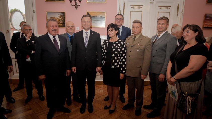 Wizyta Prezydenta RP Andrzeja Dudy