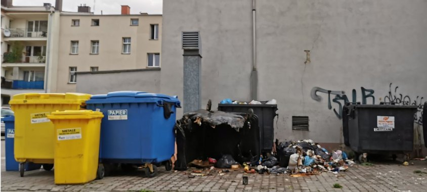 Seryjne podpalenia śmietników w Drawsku