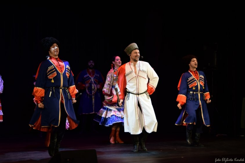 Muzyka, taniec i lampka szampana - koncert Teatru Muzycznego RADA z Białorusi