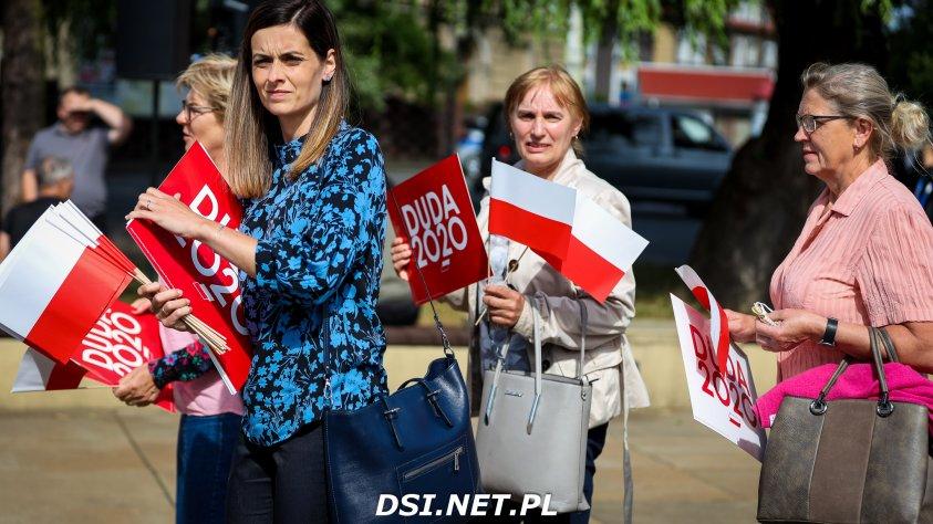 Wybory prezydenckie: Prezydent Andrzej Duda z wizytą w Drawsku Pomorskim