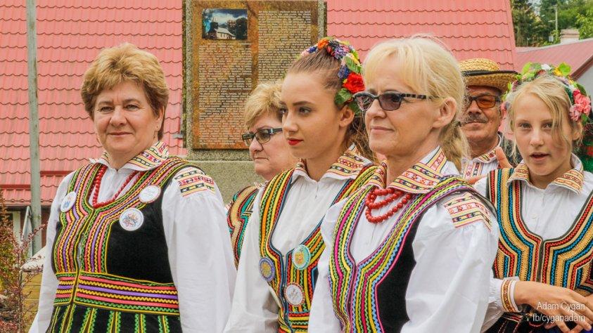 Dożynki gminne w Ostrowicach