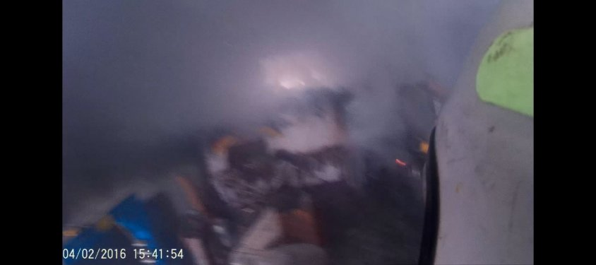 Pożar warsztatu w miejscowości Rzęśnica
