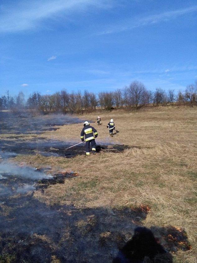 Pożary traw