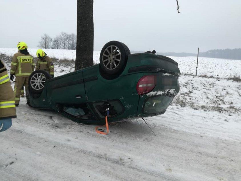 Wypadek - gmina Złocieniec_1