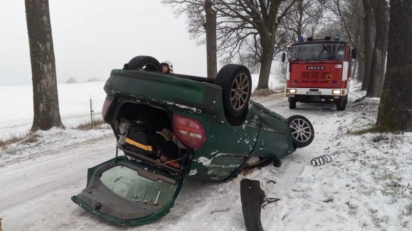 Wypadek - gmina Złocieniec_2
