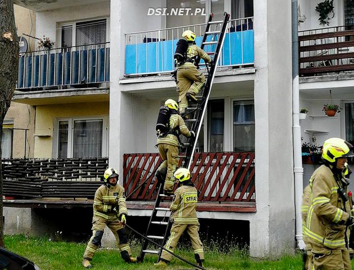 Spalony garnek postawił na nogi służby ratownicze