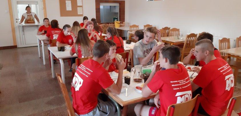 Warsztaty dla Młodzieżowych Drużyn Pożarniczych.