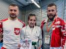 Nadia Hofman na podium. Srebro w Pucharze Europy Ju Jitsu w kaegorii U14