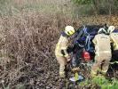 Osobówka uderzyła w drzewo, Kierowca był pod wpływem alkoholu.