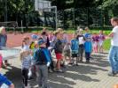 Duża frekwencja na zajęciach rekreacyjnych na Orliku w Parku Chopina