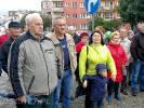 Spotkanie mieszkańców przy czołgach - Czołgi powinny zostać