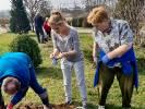 Ogrodniczo-wiosenna  integracja w Suliszewie
