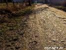 Ta droga do niedawna była szutrowa. Teraz już tam jest asfalt