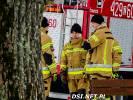 Strażacy ćwiczyli ratownictwo lodowe. Jednym ze scenariuszy była tragiczna sytuacja ze Ściennego