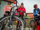 Turyści wyruszyli powitać wiosnę na rowerach i pieszo
