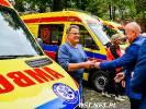 10 ambulansów dla zespołów ratownictwa medycznego. Jest też dla filii w Drawsku Pomorskim