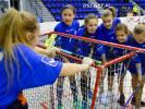 Dziewczynki ze Szkoły Podstawowej w Wierzchowie brązowymi medalistkami Wojewódzkich Igrzysk Dzieci w unihokeju