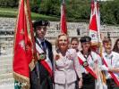Uczniowe ze Złocieńca na MONTE CASSINO podczas obchodów 72. rocznicy zakończenia bitwy pod Monte Cassino we Włoszech
