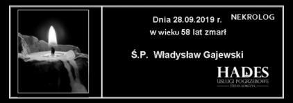 Ś.P. Władysław Gajewski