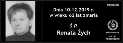 Ś.P. Renata Żych