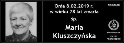 Ś.P. Maria Kluszczyńska