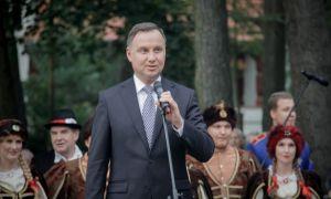 Prezydent RP Andrzej Duda z wizytą w Drawsku Pomorskim