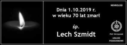 Ś.P. Lech Szmidt