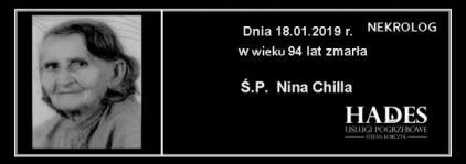 Ś.P. Nina Chilla