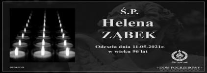 Ś.P. Helena Ząbek