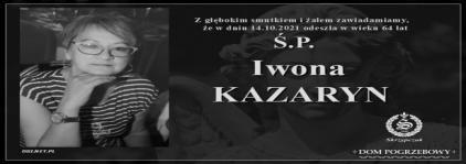 Ś.P. Iwona Kazaryn