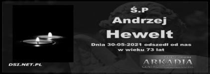Ś.P. Andrzej Hewelt