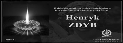 Ś.P. Henryk Zdyb