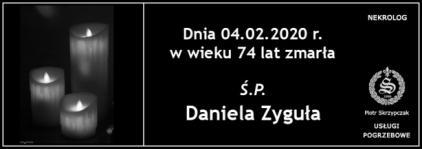 Ś.P. Daniela Zyguła