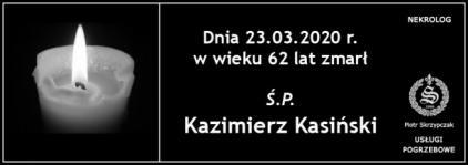 Ś.P. Kazimierz Kasiński