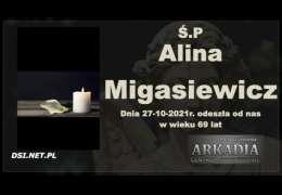 Ś.P. Alina Migasiewicz